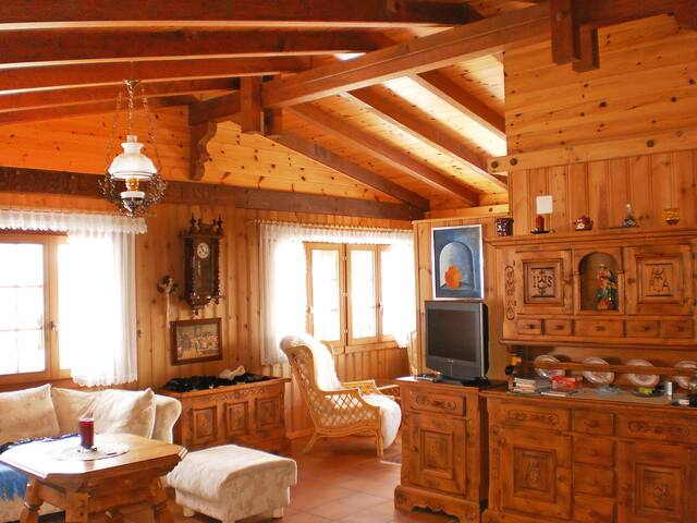 2-room chalet 90 m² Himmulriich - St Niklaus - Chalé