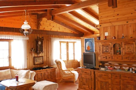 2-room chalet 90 m² Himmulriich - St Niklaus - 牧人小屋
