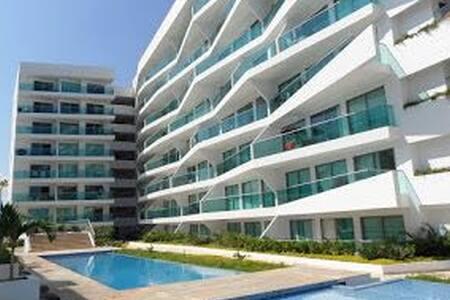 Hermoso y acogedor apartamento frente al mar.