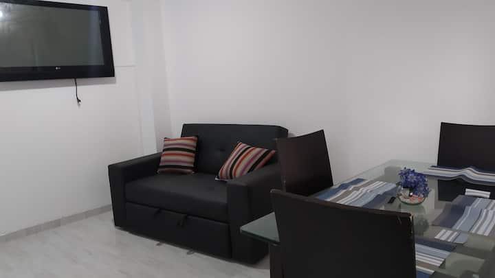 hermoso apartamento completamente equipado