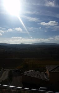 Jolie chambre calme pays Cathare - Loupia