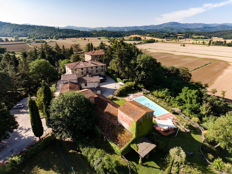 Villa Maria dall'alto