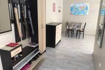 Просторная и чистая квартира/spacious and clean