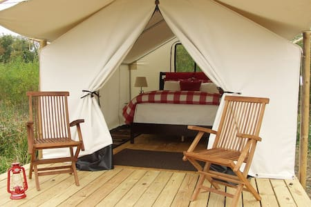 Glamping St. Louis - Paddler's Rest - Saint Charles - Tent