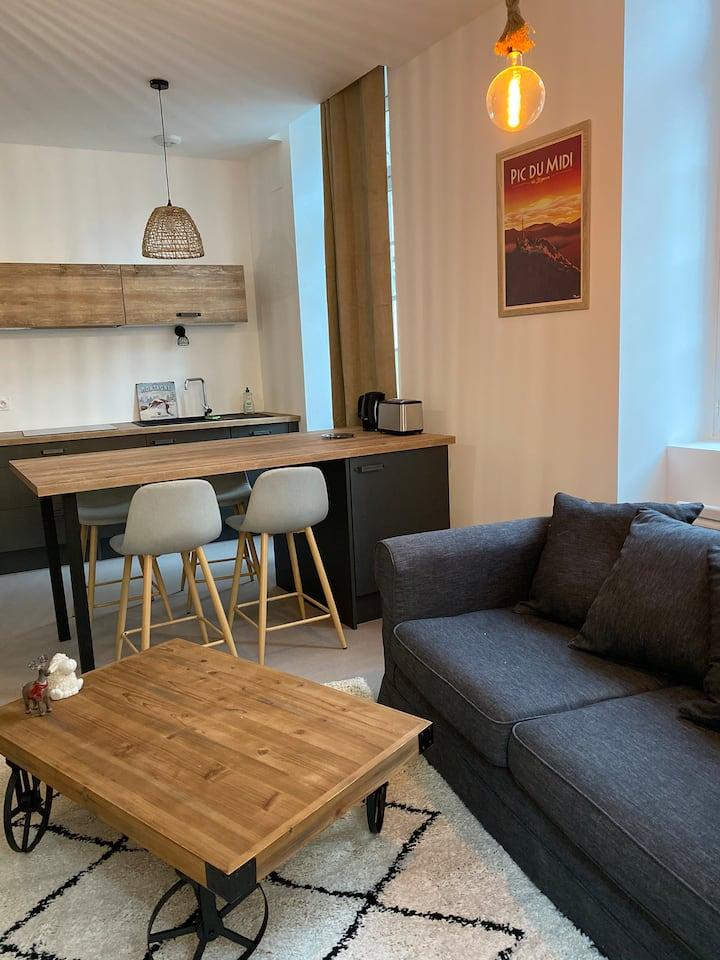 Appartement chaleureux au pied des Pyrénées