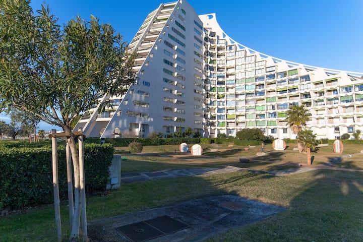 Studio La Grande Pyramide + Parking + Wifi