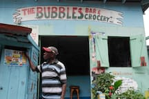 Mr. Reid, owner of Bubbles Corner Shop