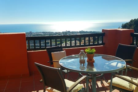 Wonderful Sea View Apartment - Calahonda Hills - Sitio de Calahonda - Wohnung