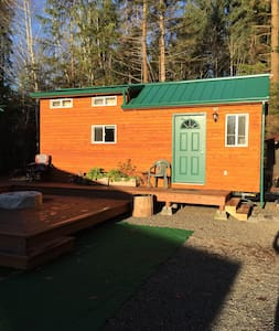 Tiny House near Forks Beaches - Forks - Stuga
