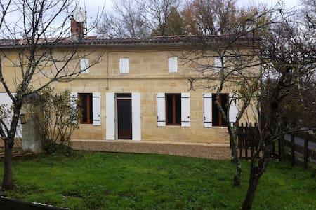 Belle maison pierre prox St Emilion - Saint Seurin sur l'Isle
