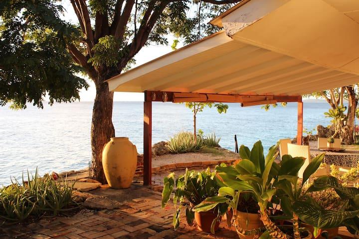 Seaside villa, private ocean access - Sint Michiel - Dom
