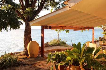 Seaside villa, private ocean access - Sint Michiel - Haus