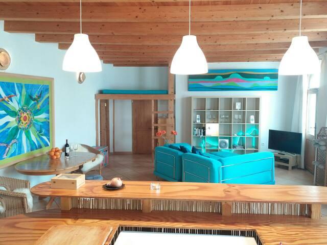 Sunny Finca apartment - Lajares - บ้าน