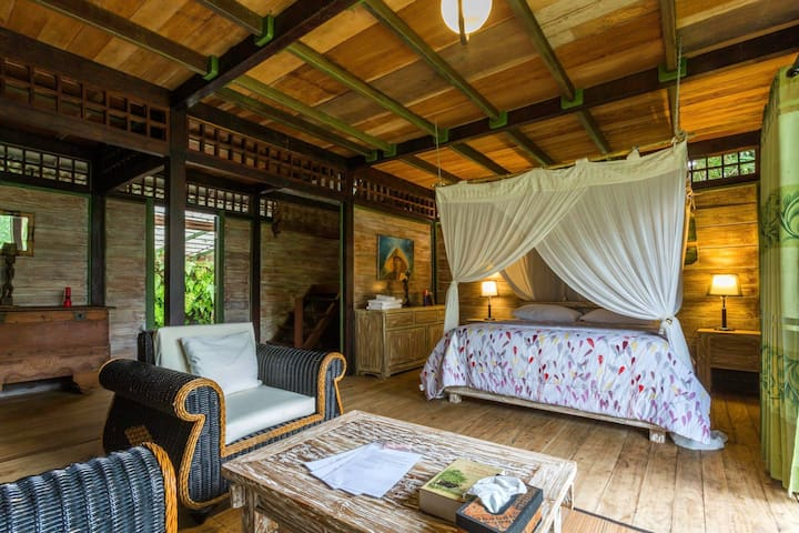 Big Bungalow for a group/family/couple near Ijen - Licin