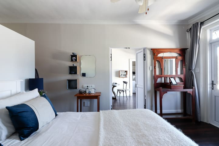 Heritage accommodation - large room upstairs