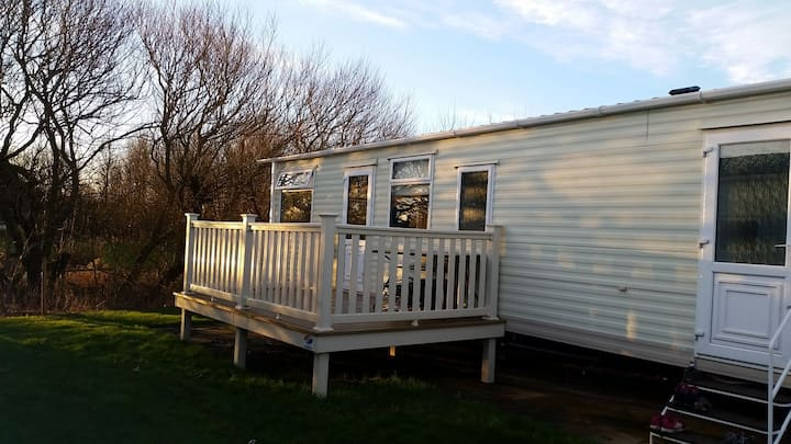 3 Bed. Static caravan Parkdean