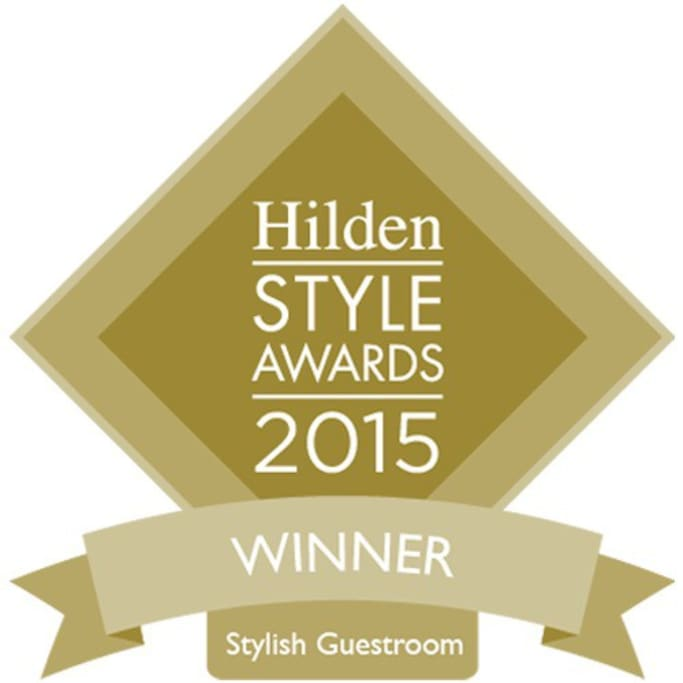 We beat off competition from some pretty swanky boutique hotels to win this years Hilden Style Awards. Gushing with pride!