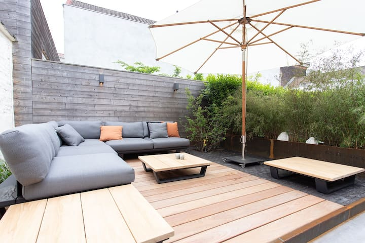 Newly renovated house close to the center of Ghent