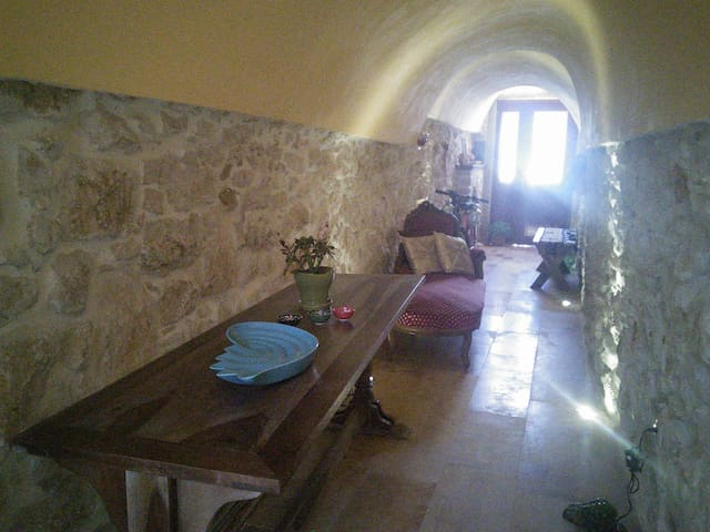 House in medieval village Armolia ,Chios