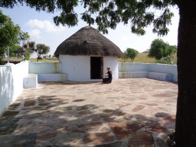 View of the Hut
