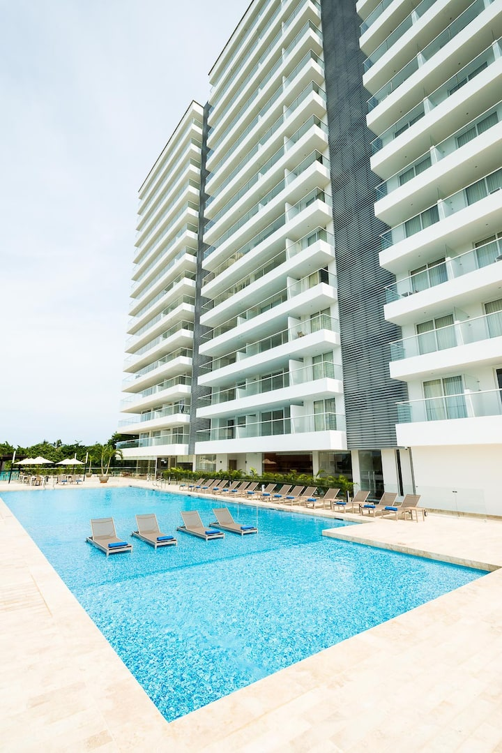 The best and exclusive apartment in santa marta.