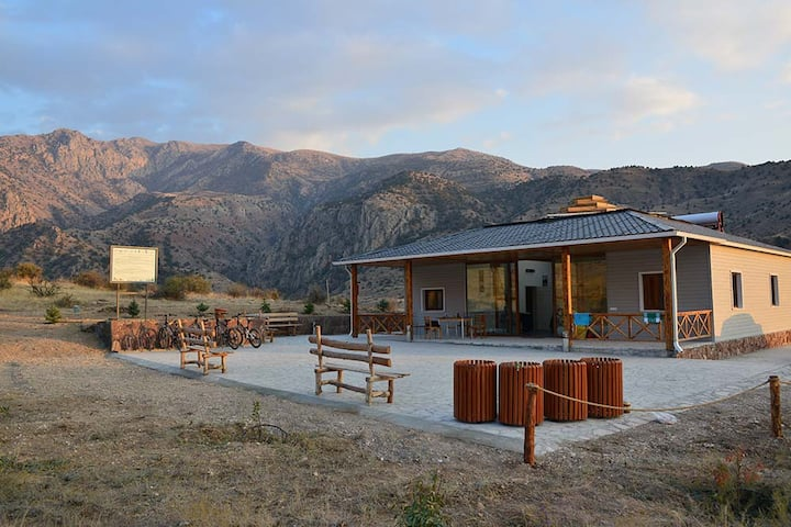 Eco Lodge in the Caucasus Wildlife Refuge