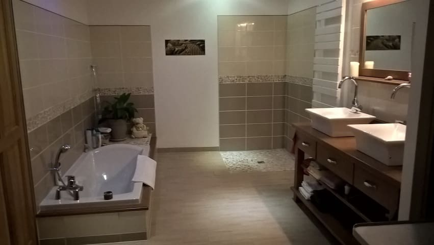 Chambre cosy dans maison cachée Private Bathroon - ルマン - 一軒家