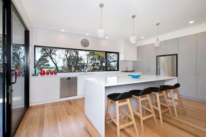 Sea La Vie - architechturally designed beach house - Shoalhaven Heads - Hus