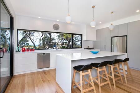 Sea La Vie - architechturally designed beach house - Shoalhaven Heads - 一軒家