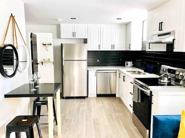 Clean & Bright Modern Suite