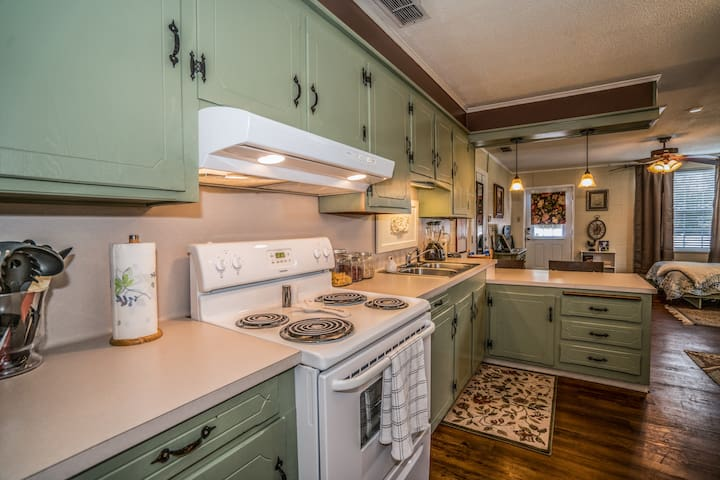 Spacious kitchen to cook up delicious breakfast for your guests.  Breakfast in bed, anyone?