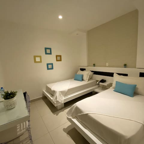 DOB Hotel Room in the Center of Dominican Republic