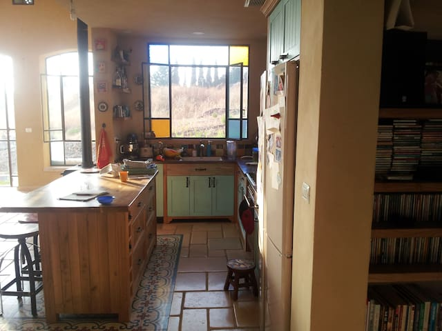 Lovely house down Gilboa Mountain - Gidona - Vila