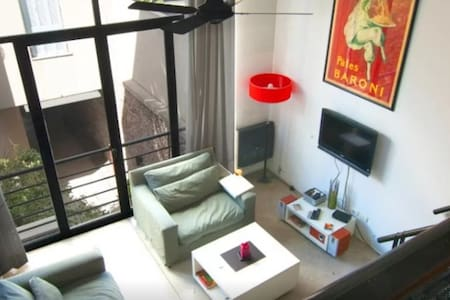 Palermo Soho Loft - lots of lights, great location - Buenos Aires