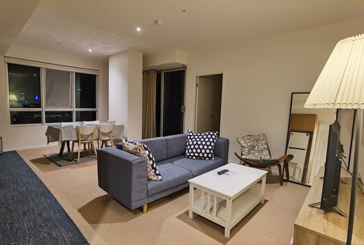Two Bedroom Apartment with Balcony & Square View