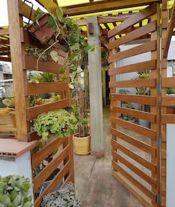 Dos piezas con terraza - Lägenhet