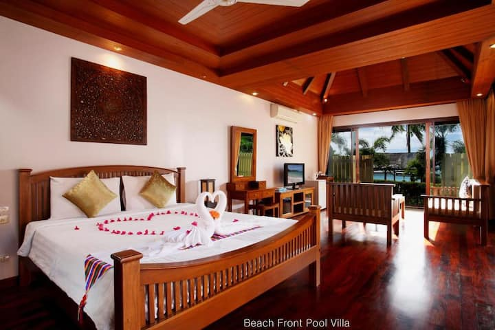 Tropical One Bedroom Beachfront at Dream Seapool