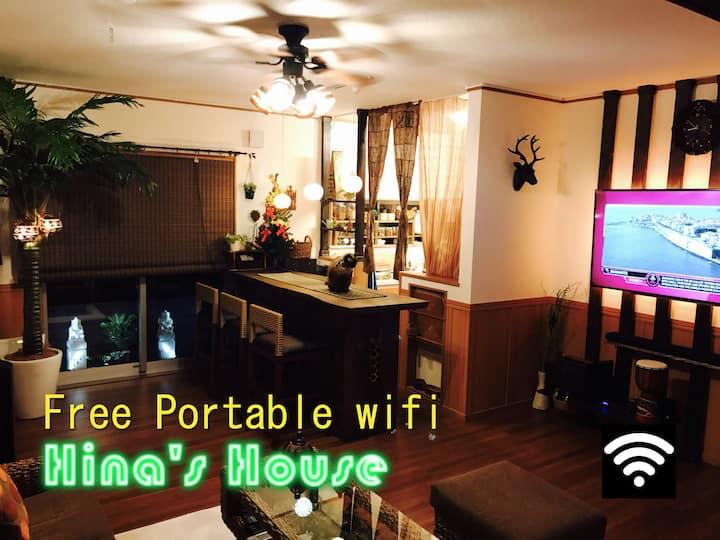 **New Open !!** Free portable wifi device