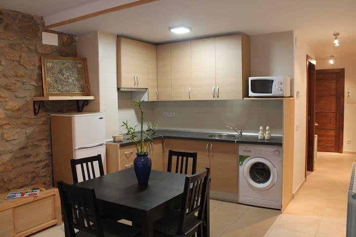 Apartament acollidor de recien construcció.