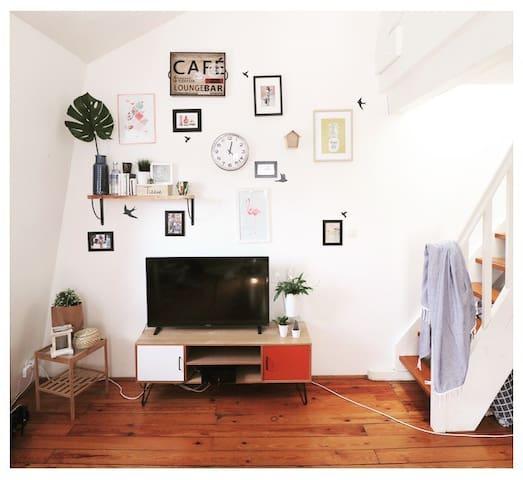 T1 bis lumineux dans château rénové - Burdeos - Apartamento