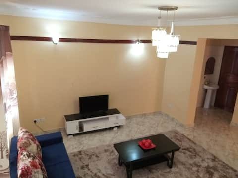 Entebbe Cozy Apartment- great WiFi, free Parking