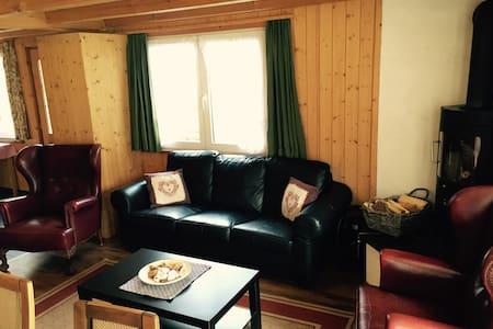 5-Zimmer Apartment mitten im Dorf - Kandersteg - Apartamento