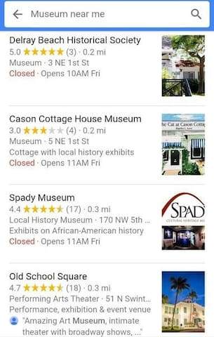 Arts & Museums Nearby