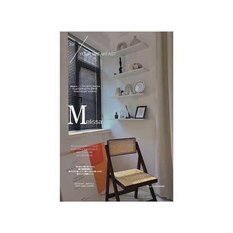 【慢居·民宿】10号房/法式现代/投影/网红拍照/市中心/凯德广场/万达商圈/火车站/飞机场