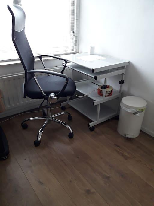 Bureau en stoel
