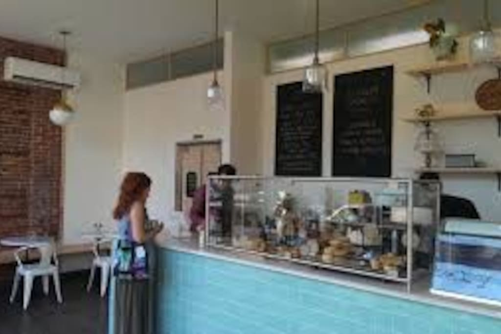 The Good Batch bakery-just downstairs!