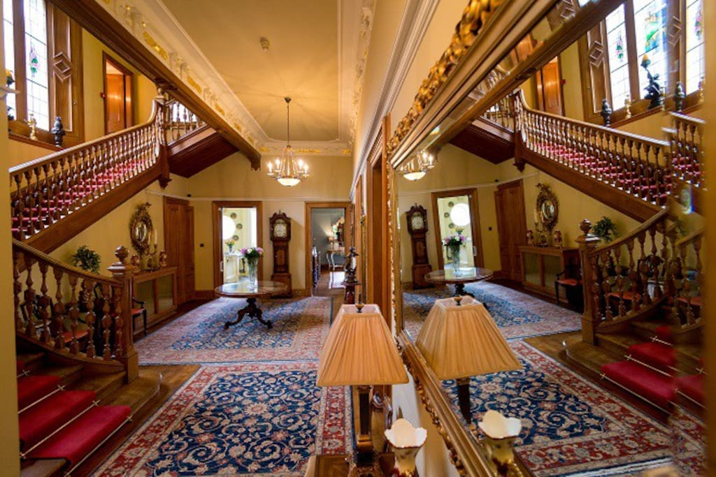 Grand Hallway leading to staircase