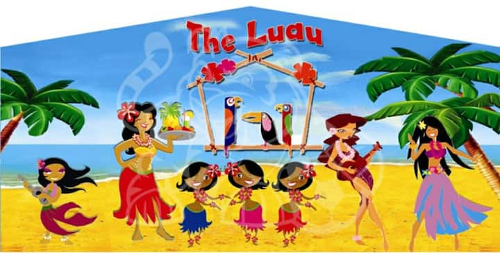 The Luau Daytime Deck & Yard rental