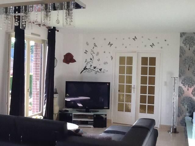 Jolie maison à la campagne - Bermerain - วิลล่า