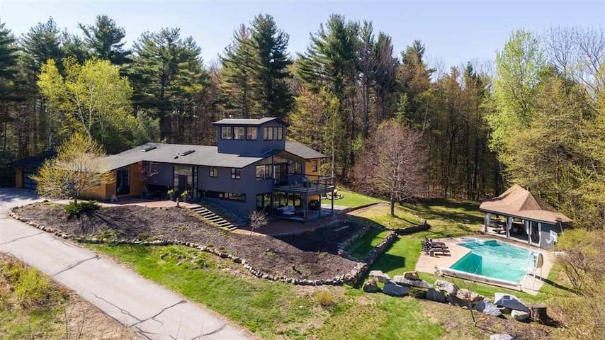Private Estate with Pool in Meredith, NH